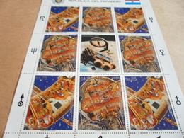 Sheetlet Paraguay 1988  Space Exploration - Paraguay