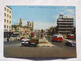 Iraq Baghdad Approach To Sadoon Street 1967  A 191 - Iraq