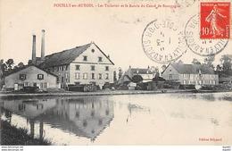 POUILLY EN AUXOIS - Les Tuileries Et Le Bassin Du Canal De Bourgogne - Très Bon état - France