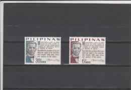 Filipinas Nº 640 Al 641 - Filipinas