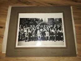 1936 ARGENTINA, BUENOS AIRES, YUGOSLAVIA, SLOVENIA, ORIGINAL PHOTOGRAPH - Identified Persons
