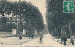 94) NOGENT-SUR-MARNE : Avenue De Joinville (1911) - Ecole Commerciale - Nogent Sur Marne