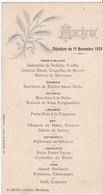 MENU  - 11 NOVEMBRE 1920 - DELSOL , PARTHENAY - Menus