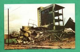 Nicaragua Managua Terremoto 1972  Fabrica Tricotextil Earthquake 1972 (format 9cm X14cm ) Tremblement De Terret - Nicaragua