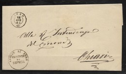 DA ADRO A CHIARI - 18.4.1861. - Marcophilia
