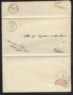 DA RODENGO A BRESCIA - 11.4.1864. - Marcophilia