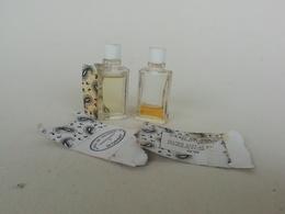 2 Miniatures Ou 1 ère Taille D'eau De Cologne Vintage Parfumerie D'Orsay - Miniature Bottles (in Box)