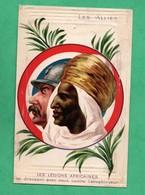 Militaria Guerre 14-18 Les Legions Africaines Et Les Alliés - Guerre 1914-18