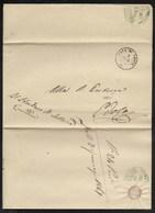 DA SELLERO A EVOLA - 6.1.1861. - Marcophilia
