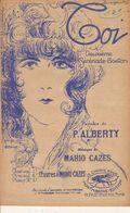PARTITION N°129 / TOI / P; ALBERTY / Mario Cazes /SERENADE BOSTON - Liederbücher