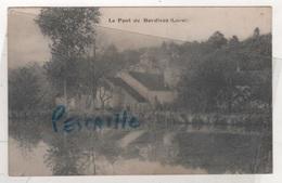 45 LOIRET - CP LE PONT DE DORDIVES - PAS DE NOM D'EDITEUR - CIRCULEE EN 1937 - Dordives
