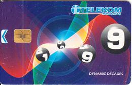 MALAYSIA(chip) - Dynamic Decades, Telecom Malaysia RM10, Chip Siemens, Used - Malaysia