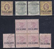 Zululand  1888-93  S.Gibbons N° 5,13 ,e F.1.MNH** MLH* E Timbrati  V.F. - Zoulouland (1888-1902)