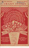 PARTITION N°132 / CHANT INDIEN : ROSE MARIE / RUDOLF FRIMI / TOTEM TOMTOM : LE TERRRIBLE HERMAN / - Liederbücher