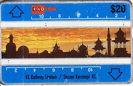 MALAYSIA(L&G) - KL Railway Station, CN : 106B, Used - Malaysia