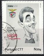 Portugal 2016 Oblitéré Used Figures Historiques Football Portugais Neto Benfica SU - 1910-... République