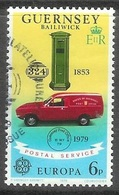 1979 Europa, 6p, Used - Guernsey