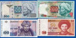 Kazakstan  4  Billets - Kazachstan