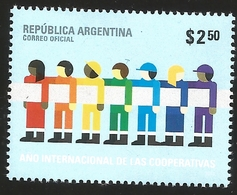 V) 2012 ARGENTINA, INTERNATIONAL YEAR OF COOPERATIVES, MNH - Unused Stamps