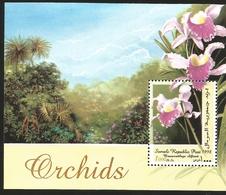 V) 1998 SOMALIA, FLOWERS, ORCHIDS, BRASSOCATTLEYA DIFTANII, MNH - Somalia (1960-...)
