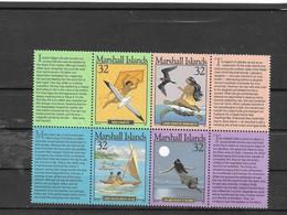MARSHALL Nº  604 AL 607 - Islas Marshall
