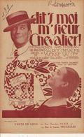 PARTITION N°139 / DIT' S MOI  M'SIEUR CHEVALIER / MR GAMMAGHER AND MR SHEAN - Liederbücher