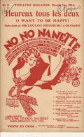 PARTITION N°140 / NO NONANETTE / OPÊRETTE - Liederbücher