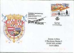 MADRID CC CON MPD CARRERA DIPLOMATICA DIPLOMATIC CAREER EMBAJADOR EMBASSY - Profesiones