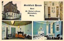 UK England ( Shropshire ) SHREWSBURY - Sandford House Hotel : St Julian's Friars - CPSM Format CPA - - Shropshire