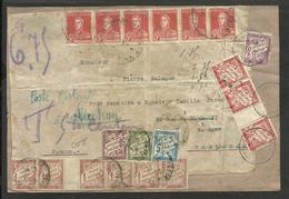 ARGENTINA 1920 FRONT COVER TO FRANCE, W/ABBUNDANT TAX FANTASTIC - Argentina