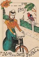 14- Saint Aubin Sur Mer - 1 Er Salon De La Carte Postale 1985 - Bourses & Salons De Collections