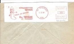 EMA FRANCE TEXTILE TEXTILIEN TEXTIL FEINSTRUMPF STRUMPF CHAUSSETTE SOCK THYAUX PIEDS AU CHAUD THOISSEY AIN FUSE TRICOT - Textil