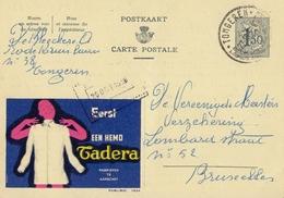 PUBLIBEL 1524°: (TADERA) : KLEDIJ,HEMD,HABILLEMENT,CHEMISE,CLOTHES,SHIRT, - Stamped Stationery