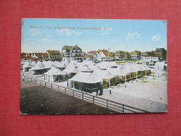 View Of Camps At Steeplechase  ---Rockaway Beach - New York > Long Island    Ref 3383 - Long Island