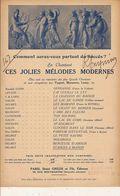 PARTITION N°147 : STANCE A MANON / MAURICE BOURET / PAUL DELMET / - Liederbücher