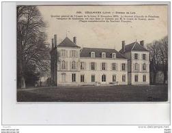 COULMIERS - Château De Lutz - Très Bon état - Coulmiers