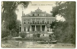 62 : LILLERS - LE CHATEAU DE PHILIOMEL - Lillers