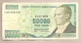 Turchia - Banconota Circolata Da 50.000 Lire P-204 - 1995/9 - Turchia