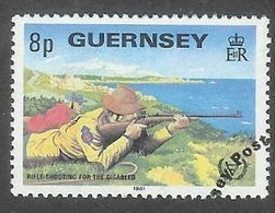 1981 Year Of Disabled, 8p, Used - Guernsey