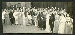RARE 1940' Photo - Actors VASCO SANTANA, LAURA ALVES? And Many Others REVISTA PORTUGUESA - PORTUGAL. REAL (PRESS?) PHOTO - Unclassified