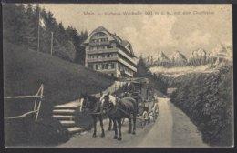 Mels - Kurhaus Waldheim - Postkutsche Diligence  -1916 - SG St. Gallen
