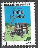 OCB Nr 3637 Strip BD Comic Cartoon Hergé Tintin Kuifje Tim - Oblitérés