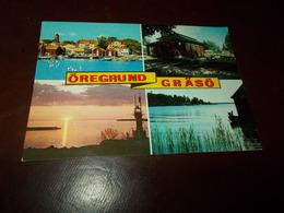 B726   Oregrund Graso Svezia Viaggiata - Svezia