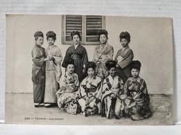 Tonkin. Japonaises - Viêt-Nam