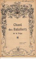 PARTITION / 153 / CHANT DES BATELIERS DE LA VOLGA / - Liederbücher