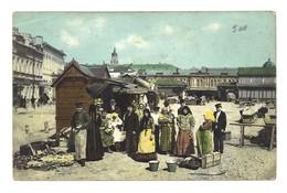 Carte Postale Ancienne Russie Kharkoff. Le Bazar. - Russie