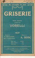 PARTITION / 154 / GRISERIE / VORELLI A; BOSC/ - Liederbücher