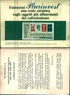 12037a)cartolina-   Plurinvest N.6-foglietti Europa Francia1956-57-58-59 - 6. 1946-.. Republic