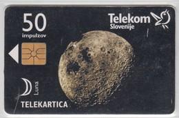 SLOVENIA 1997 LUNA MOON - Slovénie