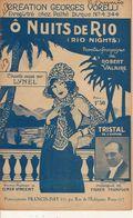PARTITION / 159 / O NUITS DE RIO / ROBERT VALAIRE : Vorelli - Liederbücher